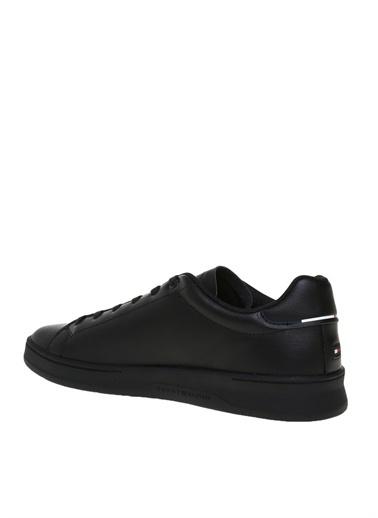 Tommy Hilfiger Tommy Hilfiger Erkek Siyah Sneaker Siyah